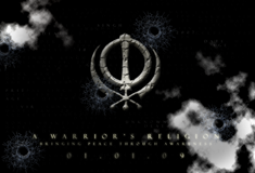 'A Warrior's Religion' Teaser Poster