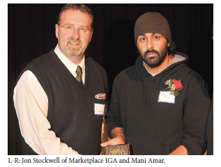 Mani Amar picture in 8th Annual Community Leader Awards Newspaper